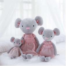 Мышь в платье 45 см