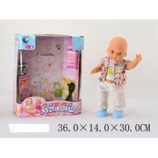 Акция Пупс 05057-1 Малыш на батарейках, в коробке