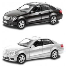 Машина Автодрайв, металлическая,1:32, mercedes benz, черная, белая