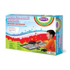 Акция Коврик музыкальный Веселый синтезатор, 99x45 см, свет