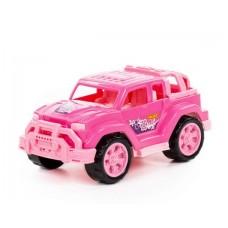 Автомобиль Легионер-мини 22 см в сеточке (розовый)