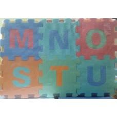 Коврик-пазл алфавит английский яз. 061-41 в пакете 45*5*31 см