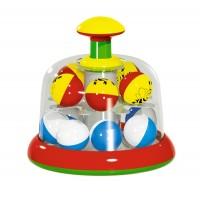 Юла-карусель с шариками в коробке