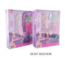 Кукла с аксессуарами и платьем, 1425-1, в коробке, 30 см
