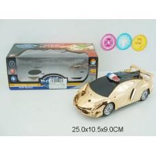 Машина на бат свет,звук 399B коробка 25*11*9см /96шт.//48шт./ [852785]