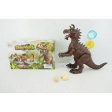 Динозавр на батарейках, световые и звуковые эффекты в коробке 29*12*18 см