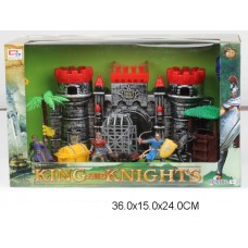 Набор Рыцарский замок с фигурками 0806-4 в коробке