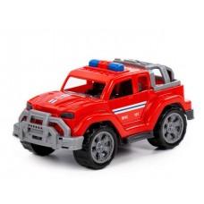 Автомобиль Легионер-мини пожарный 22 см в сеточке