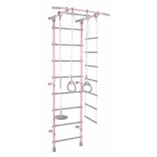 Детский спортивный комплекс Pastel 1 розовый-серый