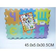 Коврик-пазл  алфавит русс. 061-41 в пакете