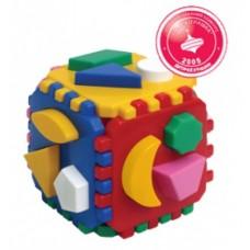 Куб Умный малыш 12х12х12см