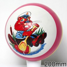 Мяч 200 мм с рисунком 76/2ЛП  /8шт/
