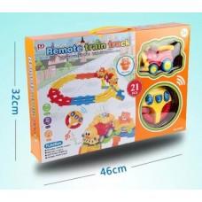 Железная дорога на радиоуправлении для малышей PYH1 в коробке, 55*38*8 см