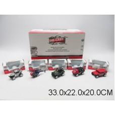 Машина металлическая 1:64 14вида 88092  в коробка 33*22*20см /в уп 48шт.//576шт//288шт/ [455974]