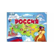 Настольная игра-ходилка Россия