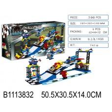 Конструктор 12501B Автоспорт 500 деталей в коробке