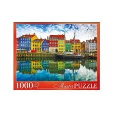 Пазлы 1000 элементов Дания Копенгаген masterpuzzle