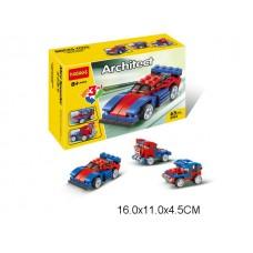 Конструктор 3 в 1 Машина 65 дет 3104 коробка 16*11*4.5 см /60шт//шт/ [883119]