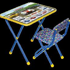 Комплект мебели Ники складной Большие гонки КП2/15 синий