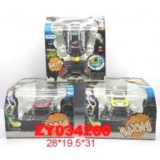 Машина ZYC-0149 Вихрь р/у аккум 10 функций, муз,свет, поворот 360градусов в кор 27*30*19см /16шт./
