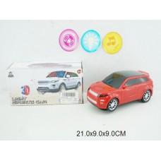 Машина 3D на бат свет,звук XY1051 коробка 21*9*9см /144шт.//72шт./ [861428]