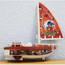 Лодка 16 см  092 зав. с ключом в пакете
