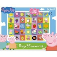 Пазл 35А.Peppa Pig.Герои и предметы01546 01546
