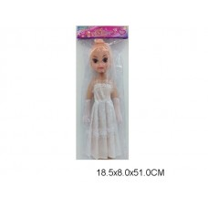 Кукла невеста, 0726-C1, музыкальные эффекты, в пакете, 44 см