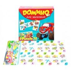 Домино + пазлы 18 элементов, для мальчиков