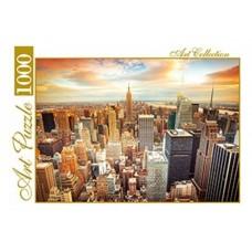 Пазлы 1000 элементов, небоскребы Нью-Йорка artpuzzle.