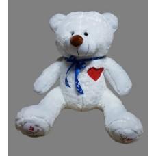 Медведь с сердцем на груди 100 см