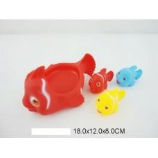 Набор для купания рыбки C603-13 в сетке