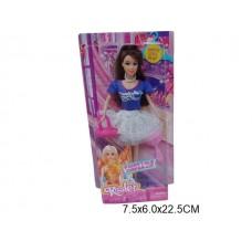 Кукла 28 см с аксесс A69931A на листе