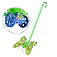 Каталка  бабочка на палке 155-18039  пакет 17*23см /192шт//96шт/ [703436]