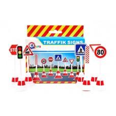 Набор дорожных знаков (15шт)