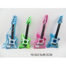 Гитара 4 цвета B-76A пакет 16*4*47 см /96шт//48шт/ [596348]