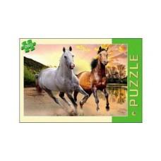 Пазлы 260 элементов две лошади