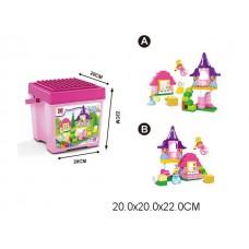 Конструктор Замок 50 деталей 188-218 в коробке