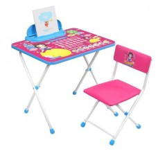 Комплект детской мебели Disney Белоснежка (стол+стул мяг.+пенал)
