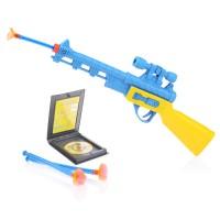 Пистолет с пулями присосками 158A17 в пакете