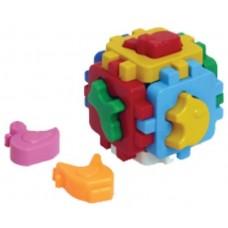 Куб Умный малыш Домашние животные 10х10х10см