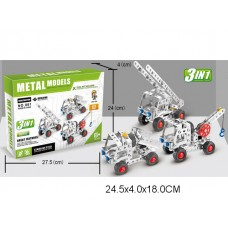 Конструктор металлический 137 дет  3 в 1  861 коробка 24.5*4*18 см /72шт//36шт/ [750291]