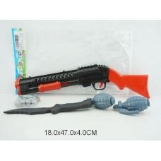 Набор оружие 002-5 в пакете