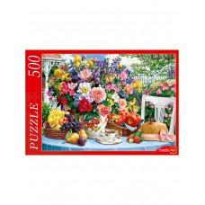 Пазлы 500 эл. Летний натюрморт в саду