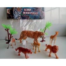 Набор животных HK101-7D в пакете