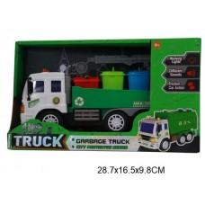Машина мусоровоз свет звук G1645 в коробке