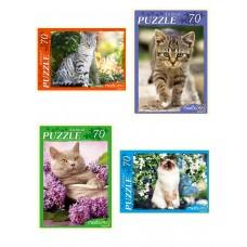 Пазлы 70 эл. Любимые котята
