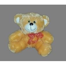 Медведь с бантом 30см