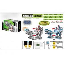 Динозавр- робот трансформер на радиоуправлении с индукц. упр. 6028A в коробке 52*20*32 см
