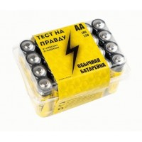 Батарейка Тест на правду LR6/316 РВ24 цена за 4шт.